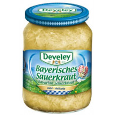 Develey - Bavarian Sauerkraut 720g Brutto Glas (24-48h Lieferzeit)
