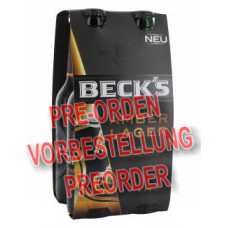 Beck's Amber Lager 4x 330ml Glasflasche MW