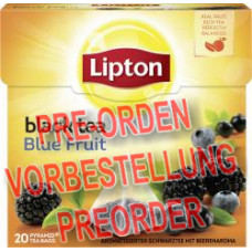 Lipton Black Tea Blue Fruit Pyramidenbeutel 36g