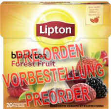 Lipton Black Tea Forest Fruit Pyramidenbeutel 36g