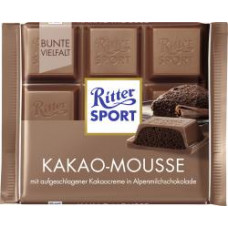 Ritter Sport - Kakao-Mousse Cacao Cocoa Mousse 100g (LAGERND CC CITA)