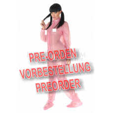 """PVC - Schlafoverall AB Strampler """"FRONT OPEN BABY GROW"""" AB06"""